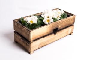 Květináč SRDCE S/L opalovaný
