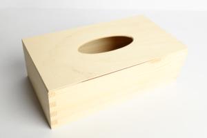 Obdelníková krabička na kapesníky