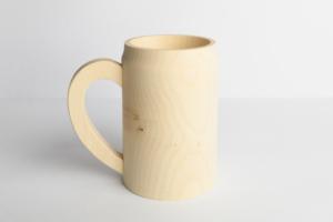 Dřevěný korbel