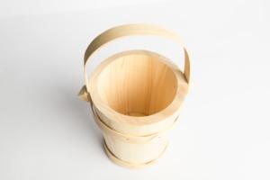 Dřevěné vědro malé 14 cm