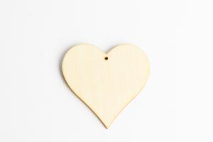 Srdce na pověšení 6 cm