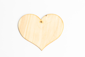 Srdce na pověšení 10 cm