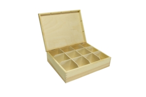 Krabička na čaje 12 přihrádek
