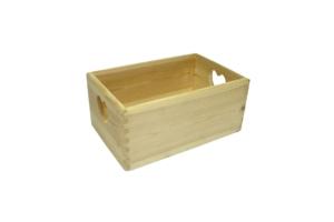 Dřevěná krabice organizér velká