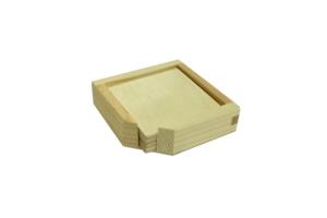 Krabička na podtácky a 6 podtácků