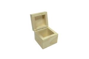 Krabička dřevěná 8x8x8 cm