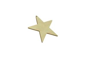 Hvězda dřevěná závěsná